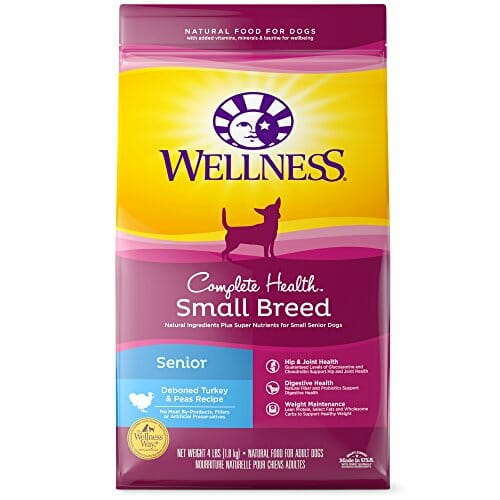 Wellness Complete Health Small Breed Natural Senior dog food