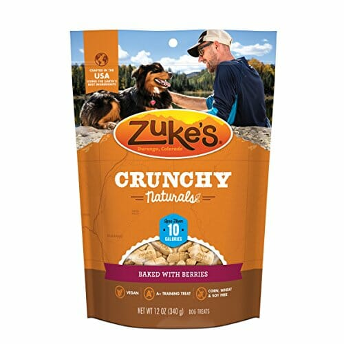Zuke's Crunchy Naturals 10s Berry treats