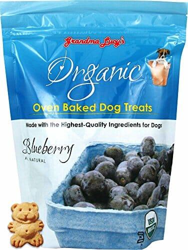 Grandma Lucy's Organic Baked Blueberry dog treats