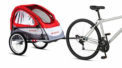 Schwinn Trailblazer single pet bike trailer