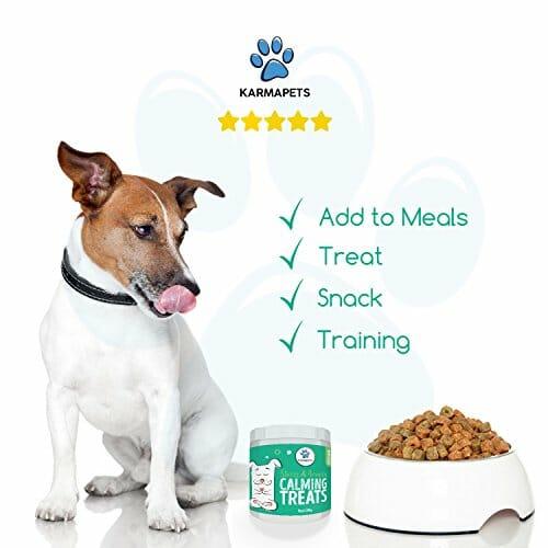 Karma Pets Calming treats for dogs