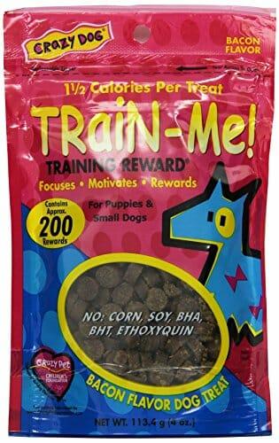 Crazy Dog Train-Me! training reward treats