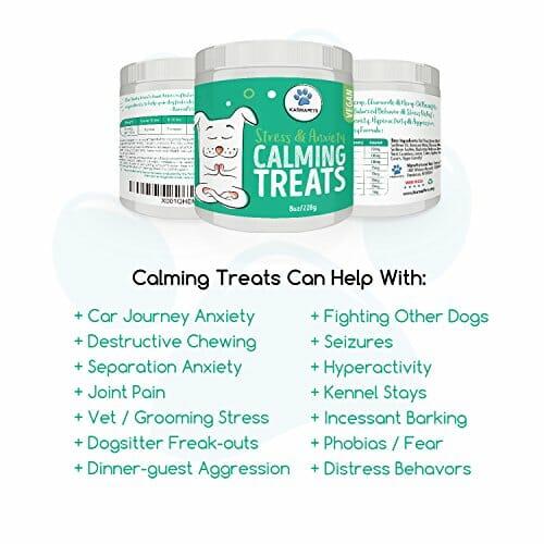 KarmaPets Vegan Calming Treats Supplement