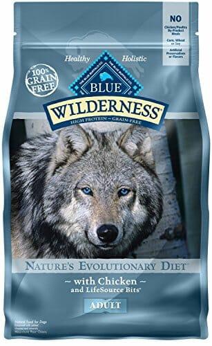 Blue Wilderness protein natural chicken husky dog food