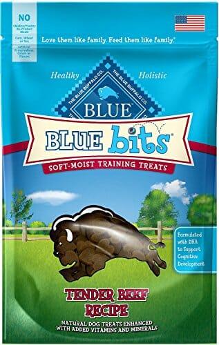 Blue Buffalo BLUE Bits beef recipe treats