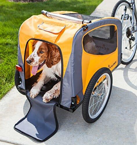 Schwinn Rascal Pet Trailer in Orange