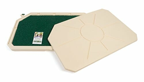 PetSafe Piddle Place Indoor Dog & Cat Toilet with Cover