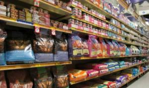 Doig food brands on display