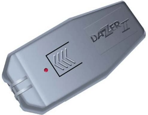 dazer II ultrasonic bark device.