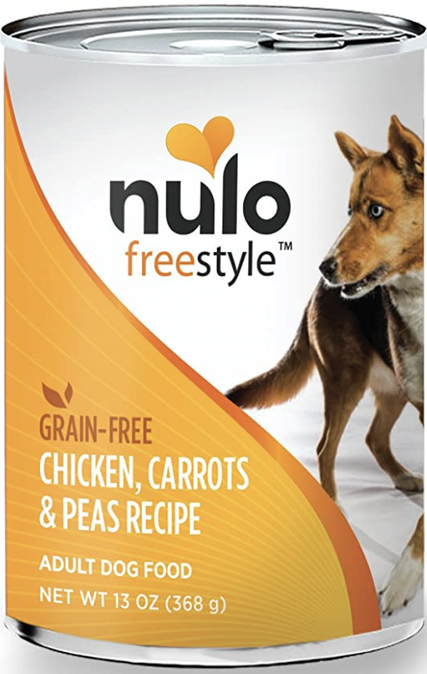 Nulo Freestyle Grain-Free Chicken, Carrots, and Peas Recipe Adult Dog Food